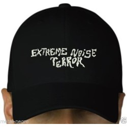 Extreme Noise Terror Embroidered Cap