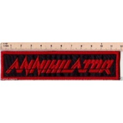 Annihilator embroidered patch
