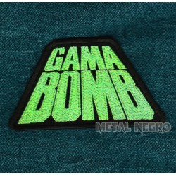 Gama Bomb embroidered patch