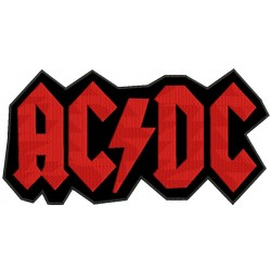 AcDc Embroidered Back Patch