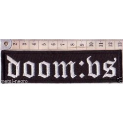 DOOM:VS embroidered patch