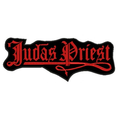 Judas Priest old logo Embroidered Back Patch