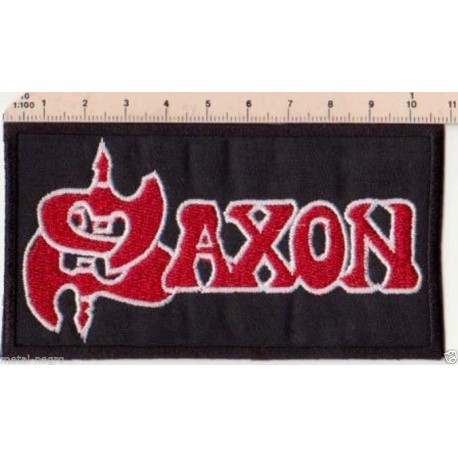 Saxon embroidered patch