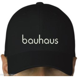 Bauhaus Embroidered Cap