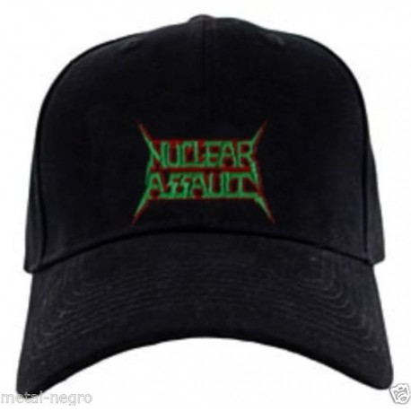Nuclear Assault embroidered cap