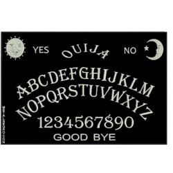 Ouija Embroidered Back Patch