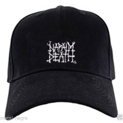 Napalm Death Embroidered Cap