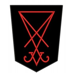 Sigil of Lucifer Embroidered Back Patch