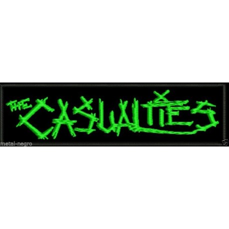 The Casualties embroidered patch