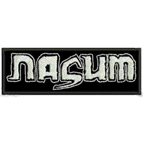 Nasum embroidered patch