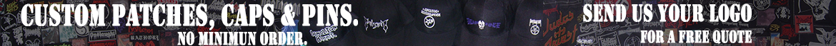 Custom made patches caps and pins
